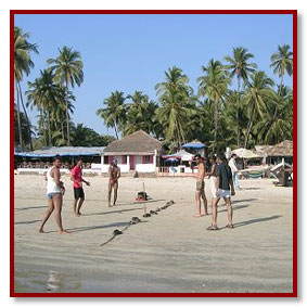 goa beaches sport